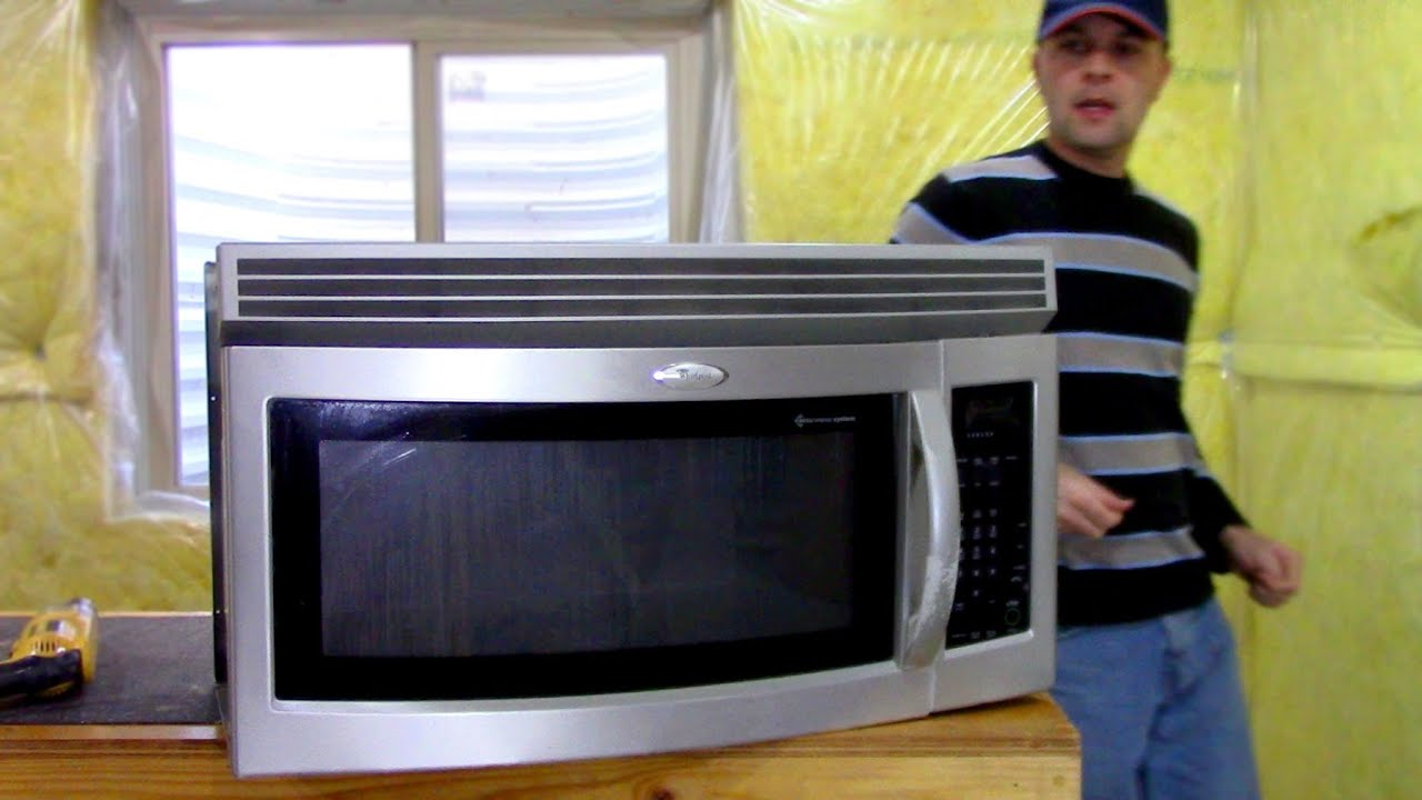 Microwave Oven Complete Tear Down Whirlpool Youtube