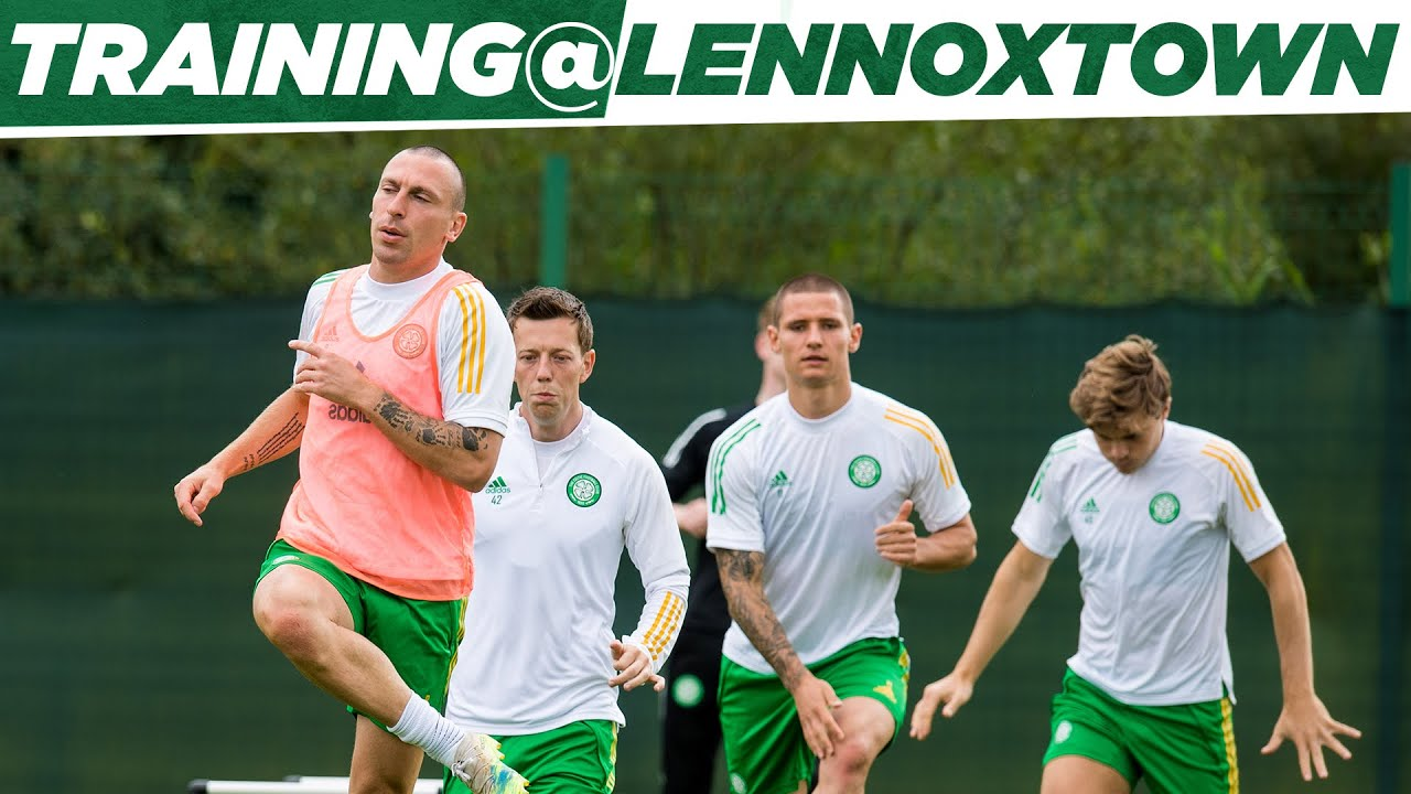 Training at Lennoxtown! Celtic prepare for first away game of the season against Kilmarnock!