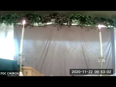 Sermon 11/22/2020 - Last Sunday of the Church Year