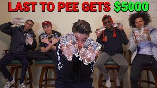 Last Person To Use The Bathroom Wins $5,000 - Challenge