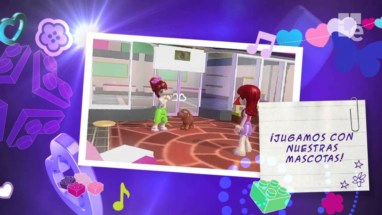 Lego Friends Gameplay Trailer 3ds Youtube