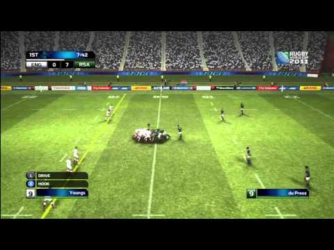 Rugby World Cup 2011 Demo (Gameplay/Commentary)