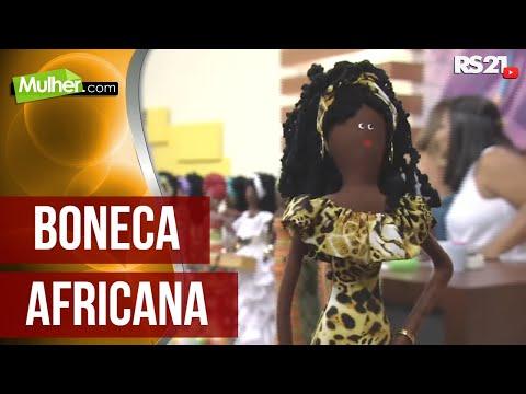 Mulher.com 18/02/2013 Mabel Fernanda De Oliveira - Boneca Africana Parte 1/2
