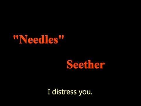 Seether - Needles Lyrics