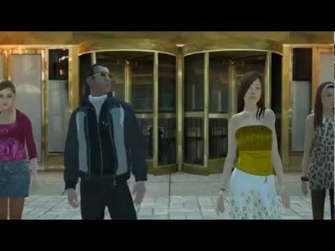Psy - GANGNAM  (강남스타일) - Grand Theft Auto 4 STYLE Fandub Español latino