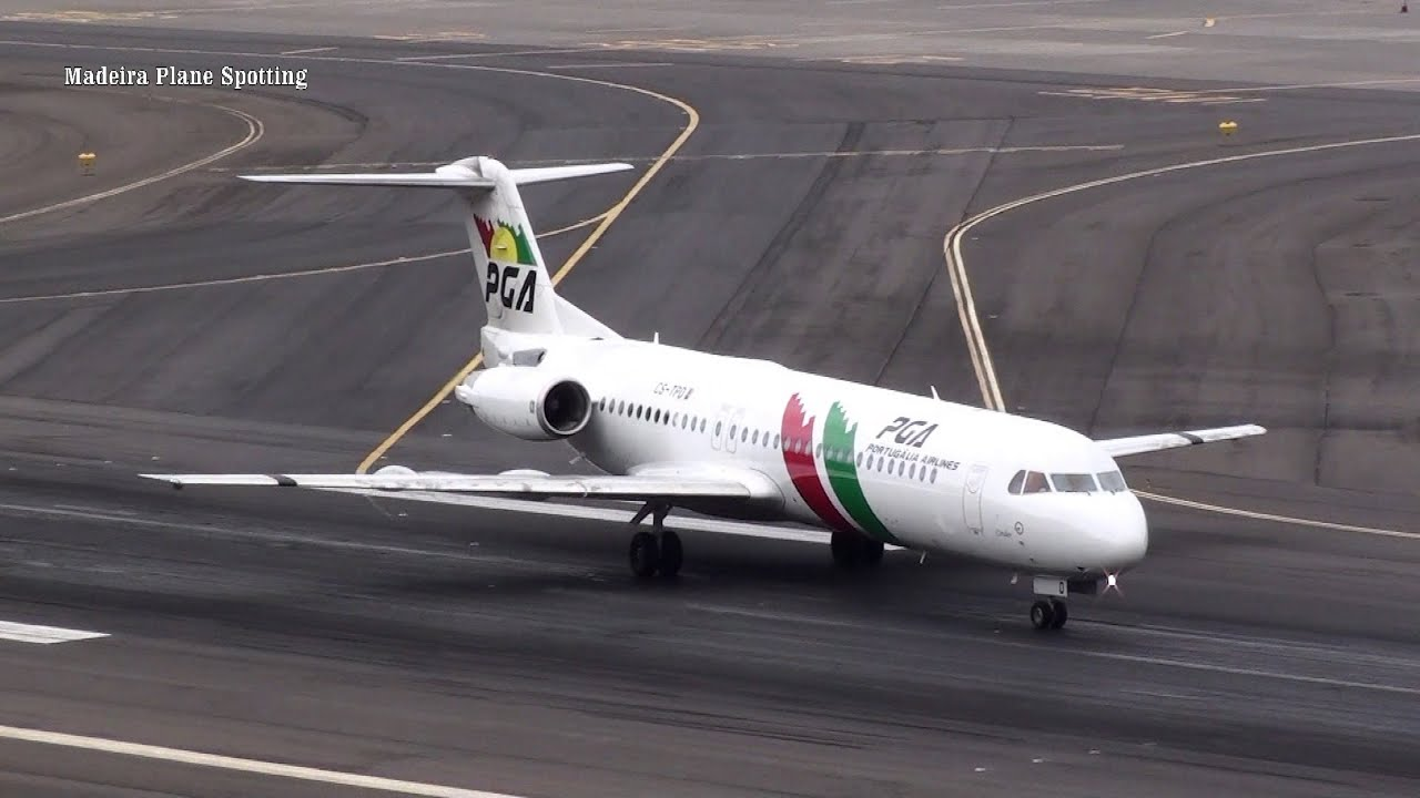 Aeroporto da Madeira (BELAS) Aterragens e Descolagens PGA Portugália Transavia Luxair