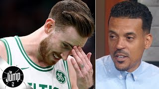 Matt Barnes explains the biggest key to Gordon Hayward's possible bounce-back season | The Jump