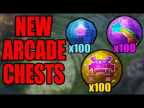 NEW ARCADE HEXTECH UNBOXING $600 ORBS | New Lancer Zero Hecarim Skin | League of Legends