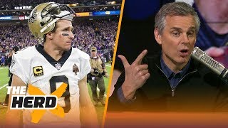Colin Cowherd talks Drew Brees, Case Keenum