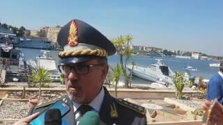 Festa della Guardia di finanza - colonnello De Panfilis