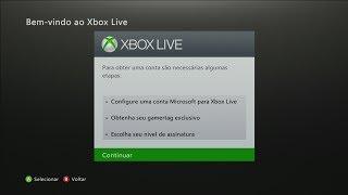 COMO CRIAR UMA CONTA XBOX LIVE!!!