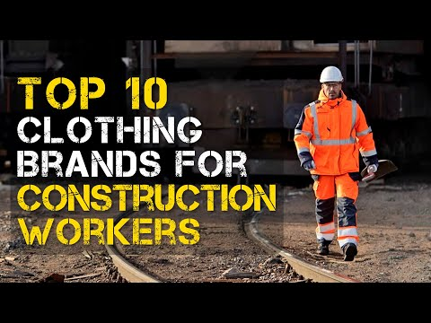 Top 10 Best Clothing Brands for Construction Workers