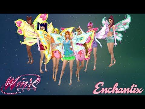 Winx Club 3-D Enchantix Transformation With Roxy (Nick Dub) - The Sims 4 | CC Linked Below