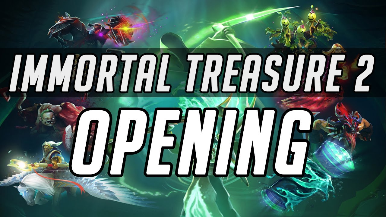 Dota 2 Immortal Treasure Ii: DOTA 2: IMMORTAL TREASURE 2 CHEST OPENING + FULL REVIEW