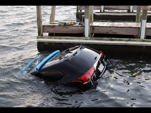 The Woody Show - FAIL: Guy Tries to Launch Kayak into Water, Launches Car Instead