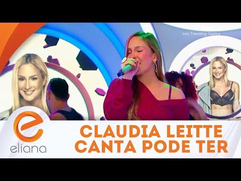 Claudia Leitte canta a música Pode Ter   Programa Eliana (17/06/18)
