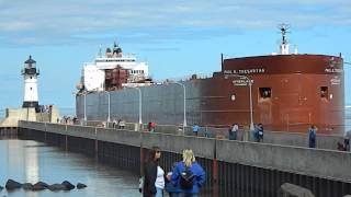 Paul R.Tregurtha Duluth Port Entry Largest Great Lakes Ship