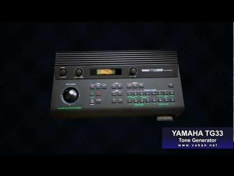 YAMAHA TG-33 (SY-22) - 64 User Presets Demo