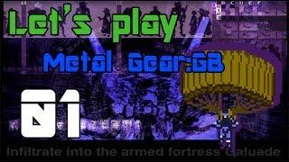 Прохождение  Metal Gear: Ghost Babel / Metal Gear Solid [GBC]. Часть I