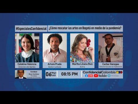 #EnVivo   ¿Como rescatar las artes en Bogotá?