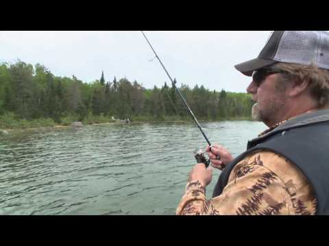 Fishing for Hard Fighting Throphy Ontario Smallmouths Babe Winkelman