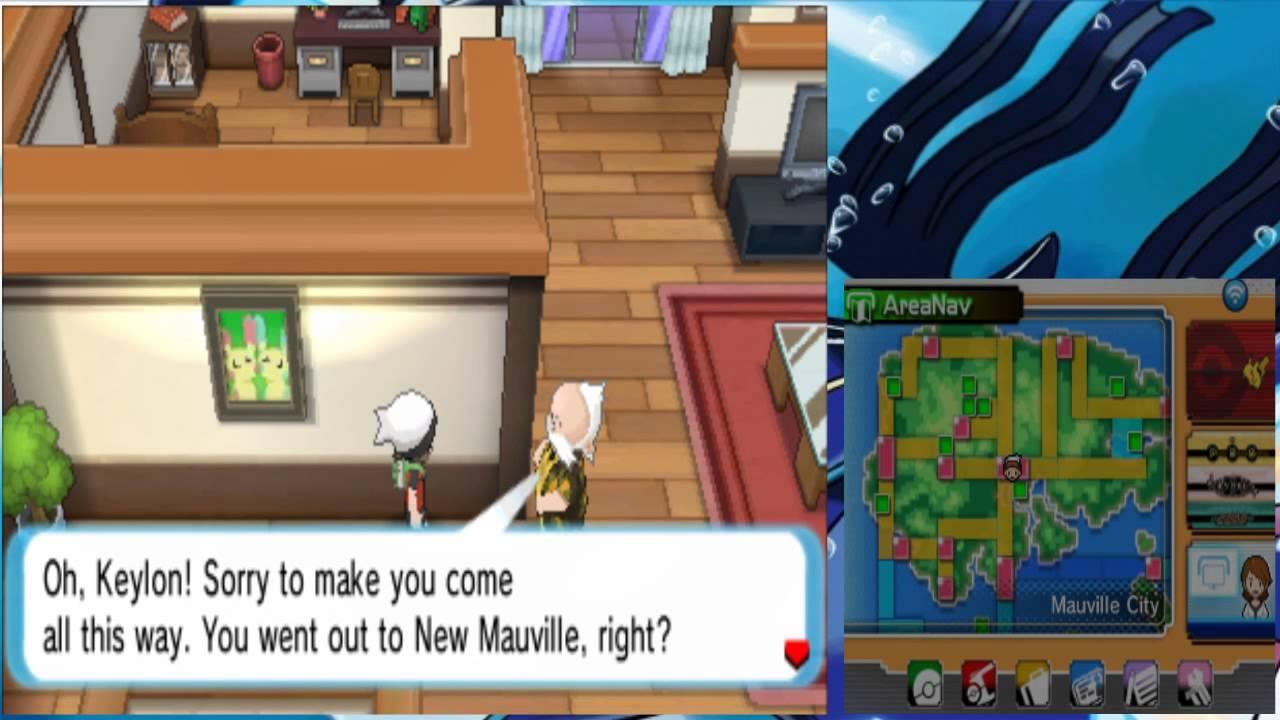Pokemon Alpha Sapphire Mono Water 034 New Mauville On