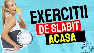 Exercitii de slabit acasa! Exercitii pentru fese, pentru burta si solduri - doar 5 minute!