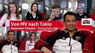 Von MV nach Tokio - Rollstuhlfechter Balwinder Cheema