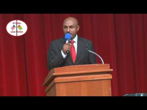 DIASPORA TOGO SPEECH DIRECTOR  ETHIOPIAN AIRLINES OF WASHINGTON OFFICE