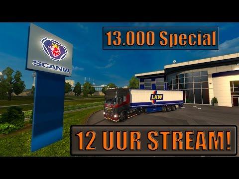12 UUR LIVE STREAM! 13K SPECIAL!