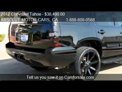 2012 Chevrolet Tahoe LT 2WD  for sale in COSTA MESA CA 926  YouTube