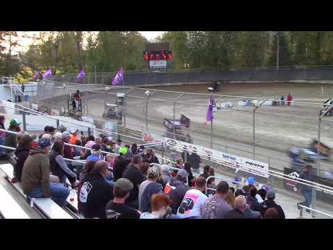 Deming Speedway WA - Micro 600R Heat Race (Carson Borden) - August 24, 2018