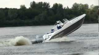 Алюминиевая лодка Бестер-480 open кобра на воде :)(Сайт производителя: http://www.saitov-kater.ru., 2012-08-08T07:39:52.000Z)
