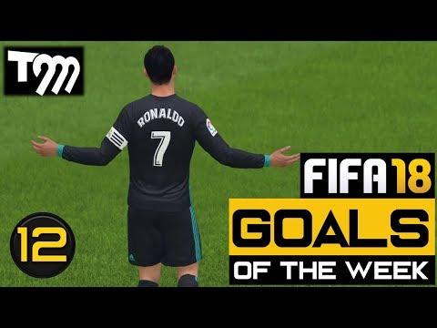 Fifa 18 - TOP 10 GOALS OF THE WEEK #12