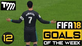 Fifa 18 - TOP 10 GOALS OF THE WEEK #12