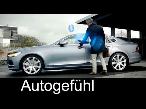 New keyless entry Volvo smartphone as key via Bluetooth - Handy als Autoschlüssel