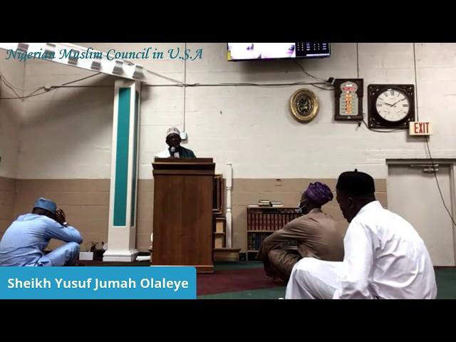 Jummah Khutbah | Sheikh Yussuf Juma Olaleye