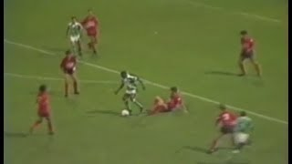 ASSE 2-0 Le Puy - 7e journée de D2 1985-1986