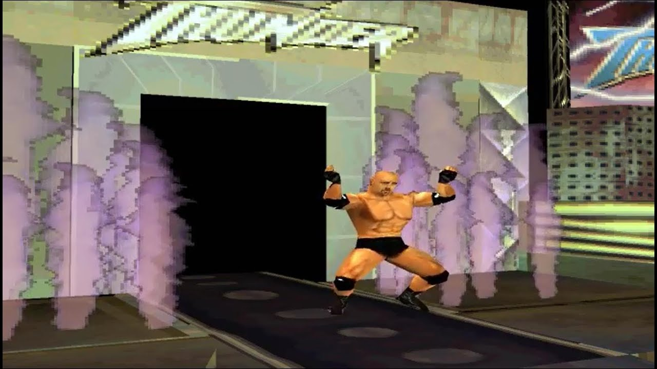 WCW Mayhem – Part 1 – Quest For The Best Mode With Goldberg [PS1]