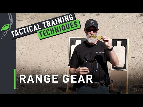 Tactical Training Techniques: What Should You Have In Your Range Bag?