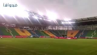 بالفيديو : استعدادات أستاد بورت جنتيل لاستضافة مباراة مصر ومالي غدا