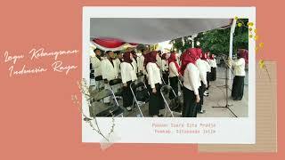 LAGU KEBANGSAAN INDONESIA RAYA ( COVER ) PADUAN SUARA GITA PRADJA PEMKAB.SITUBONDO