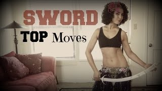 Sword belly dancing: best basic belly dance moves to use
