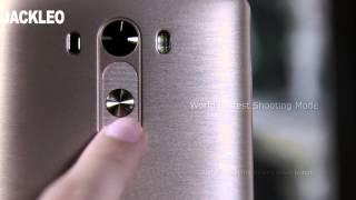 JACKLEO Force JL520 Golden Smartphone Review