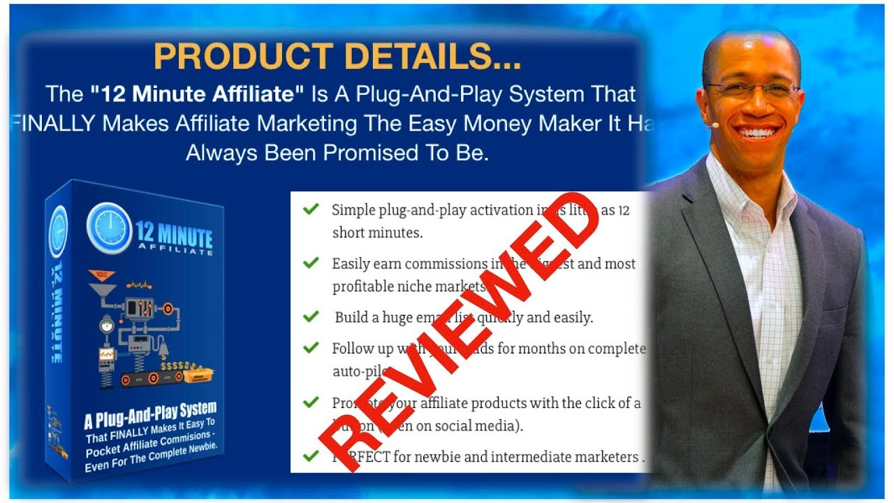 12 Minute Affiliate Review 2019 - 12-Minute Affiliate Real Review