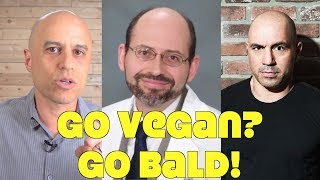 WebMD: Vegans Go Bald & Are Protein Deficient!
