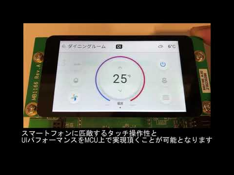 MCU on uITRON Demo - The Qt Company Japan