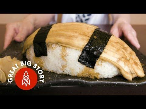 Eating Japan's Biggest Sushi
