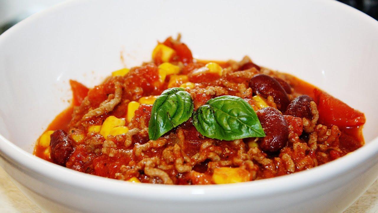 rezept bacon beef chili schnell und einfach selber. Black Bedroom Furniture Sets. Home Design Ideas