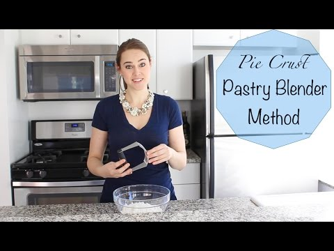 Pie Crust Tutorial: Pastry Blender Method